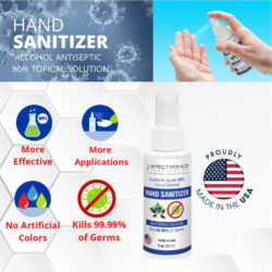 Tracer Products Offers Sanitizer Spray