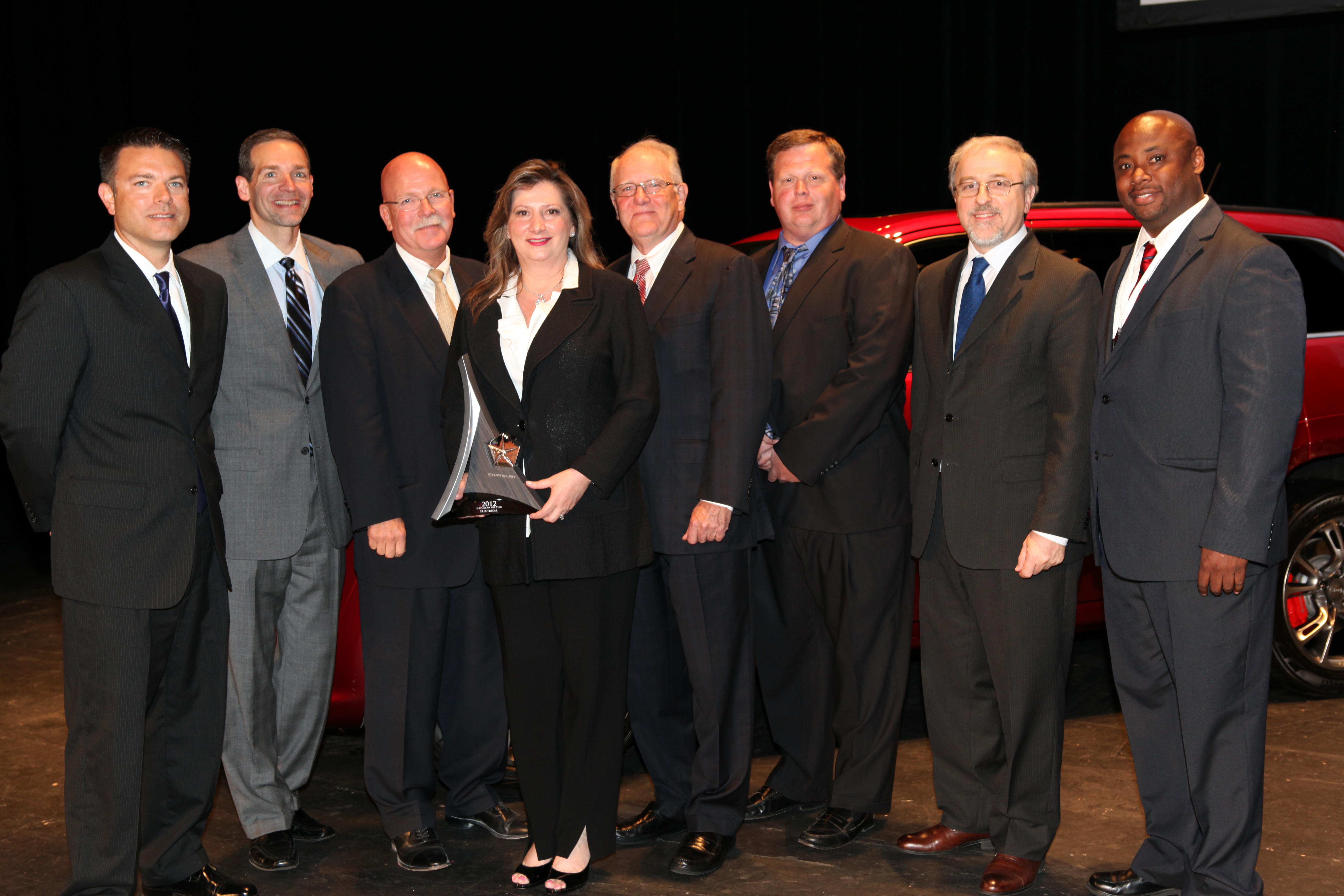 Trico Products wins Chrysler supplier award