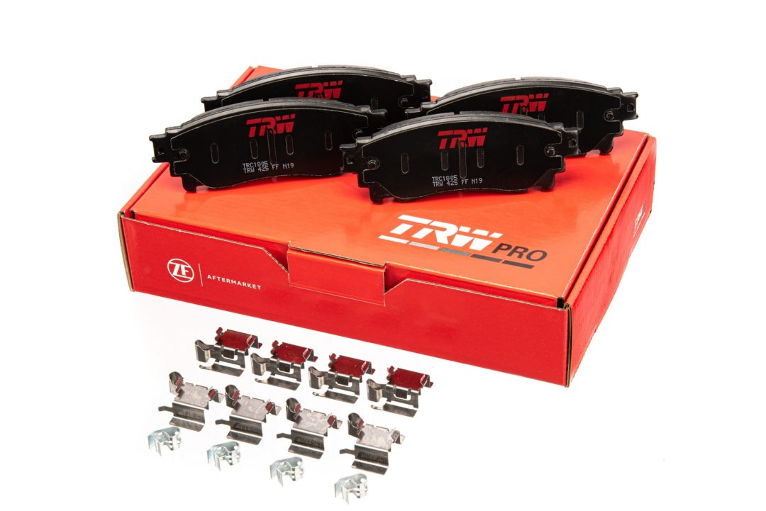 TRW Brake Pad Lines Come in New Formulations and Packaging