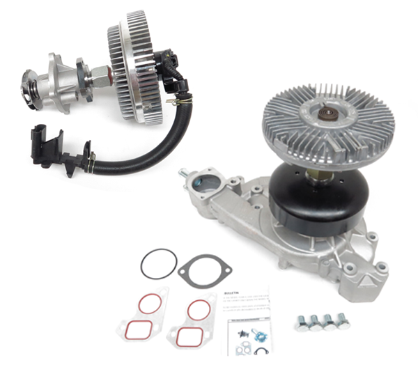 US Motor Works' New Cooling Kit Pairs Water Pump and Fan Clutch