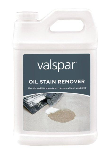 Valspar offers oil stain remover