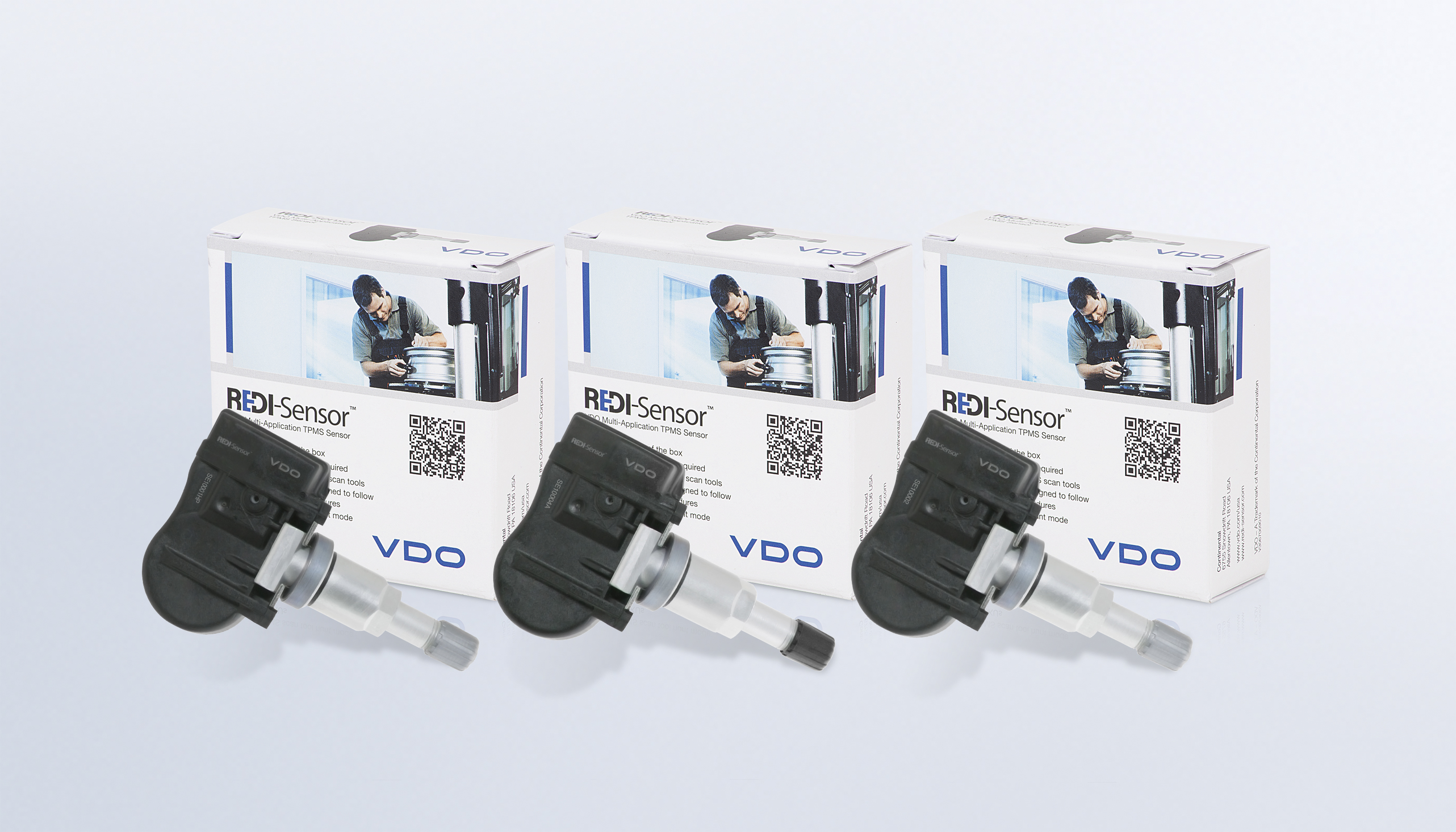 VDO REDI-Sensor TPMS training video with stem replacement tips