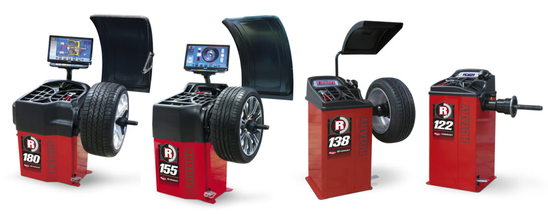 Vehicle Service Group Adds Rotary Wheel Balancers