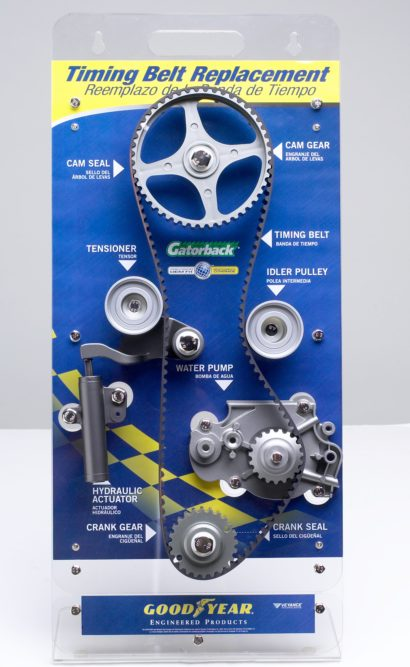 Veyance promotion educates installers/consumers on timing belt kits