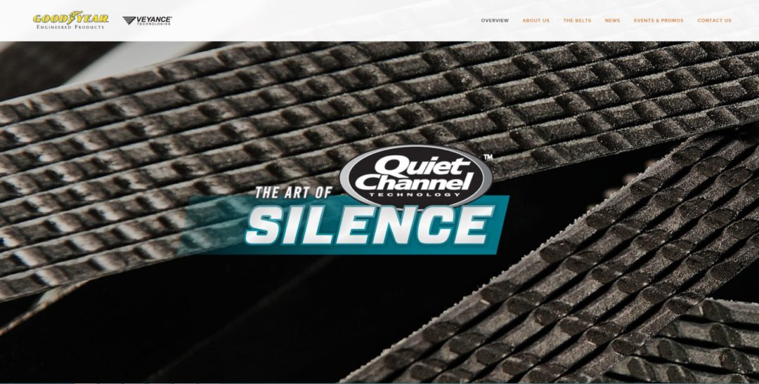 Veyance Technologies launches the 'Art of Silence' campaign