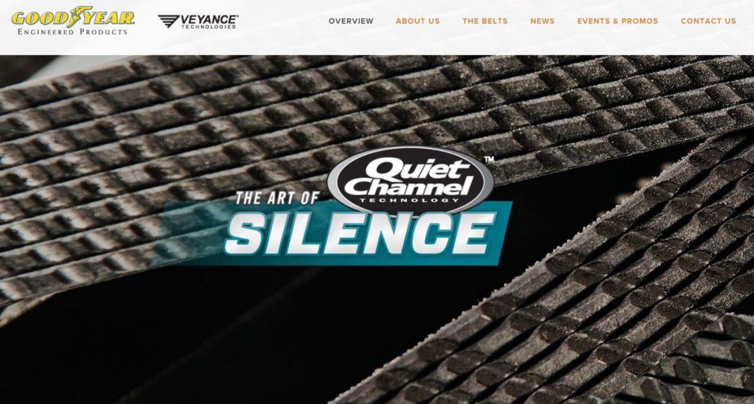 Veyance will highlight new website for belts and OAD diagnostic kit at AAPEX