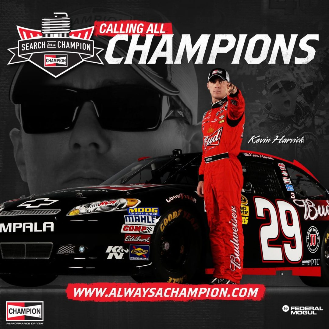 Voting open for 'Search for a Champion' racing sponsorship contest