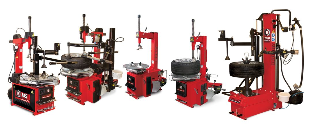 VSG Introduces Line of Rotary Tire Changers