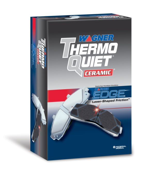 Wagner ThermoQuiet brake pads are aftermarket for 2011 Nissan Quests