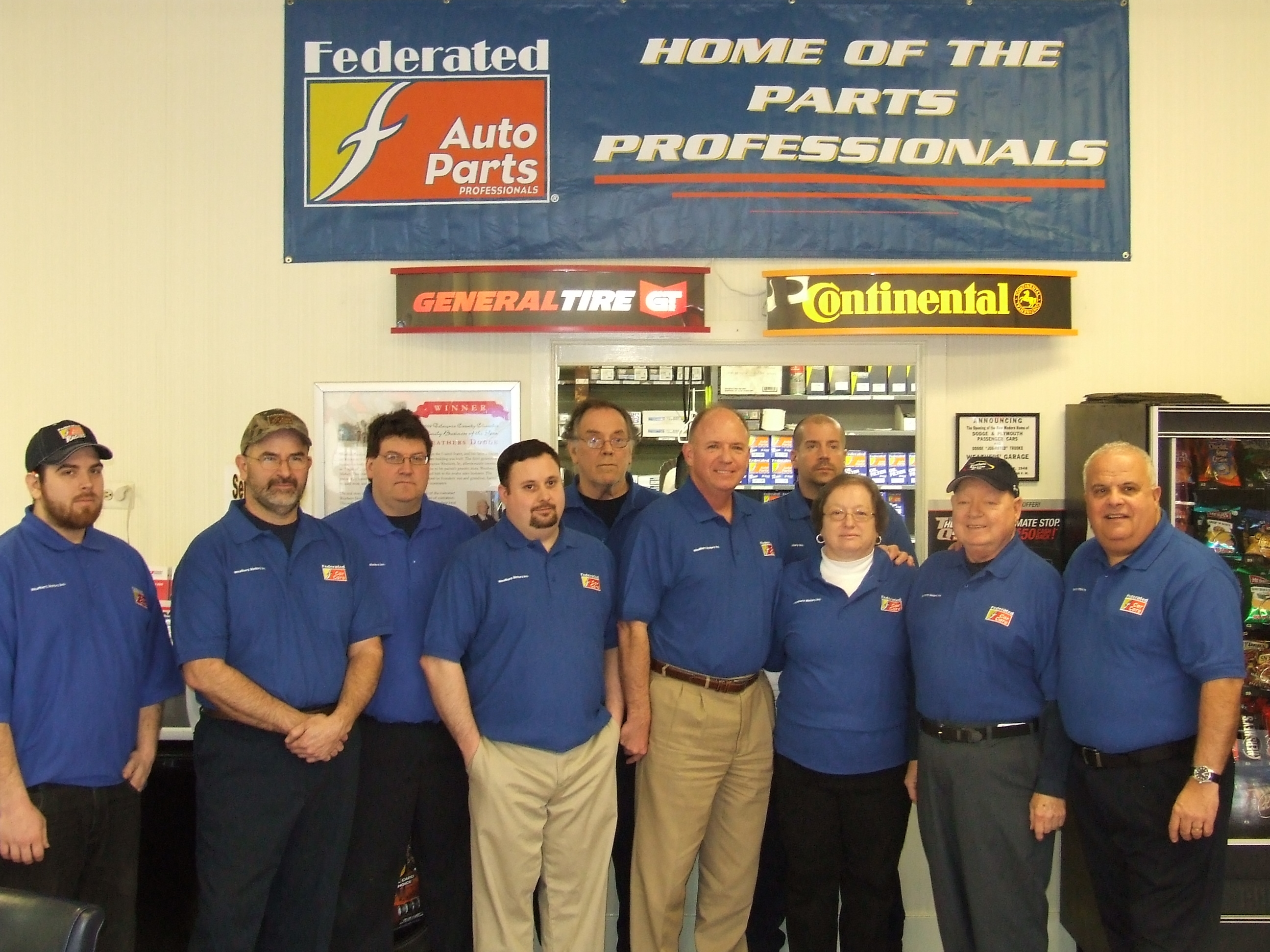 Weathers Motors honored as Federated Shop of the Year