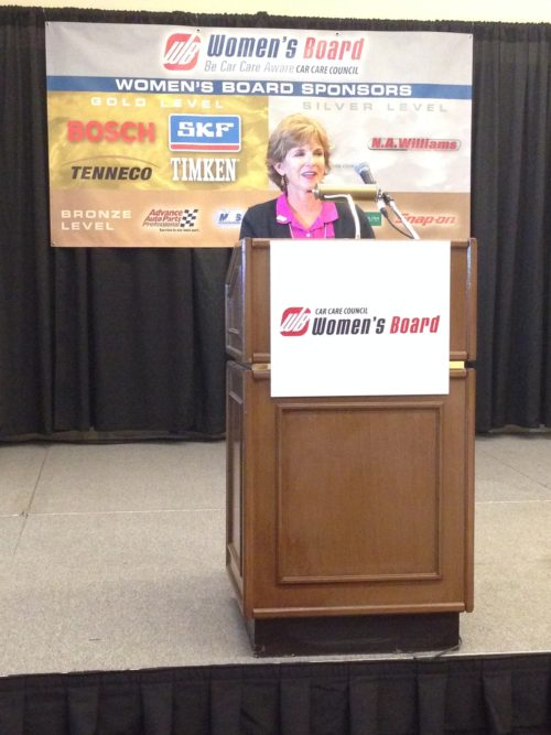 Wexco's Lombard named Automotive Aftermarket Woman of the Year