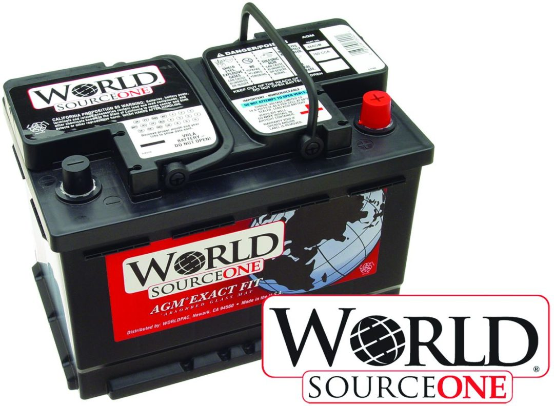 World Sourceone batteries cover domestic, import applications