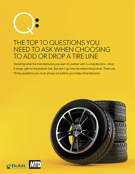 Top 10 Questions When Choosing to Add or Drop a Tire Line